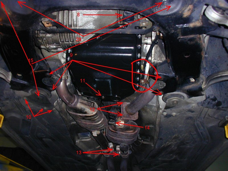 Audipages A8 Transmission Removal