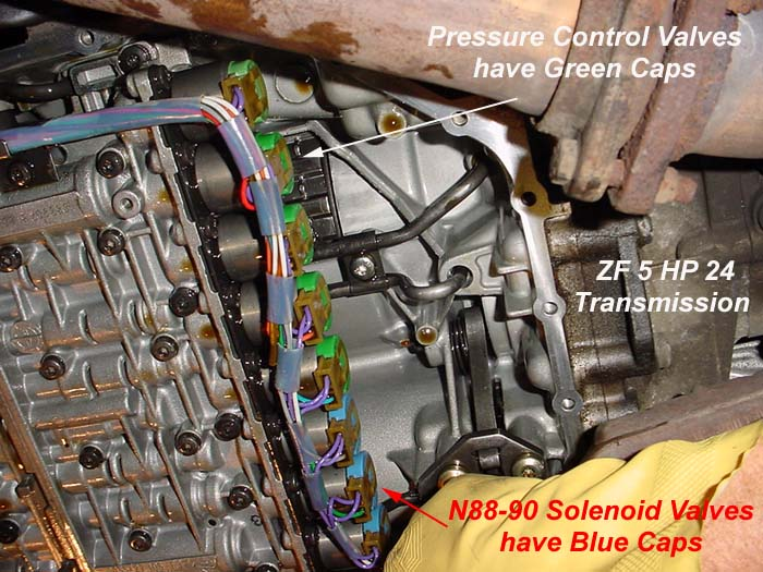 Transmission Wiring Harness Bad Resistance Readings