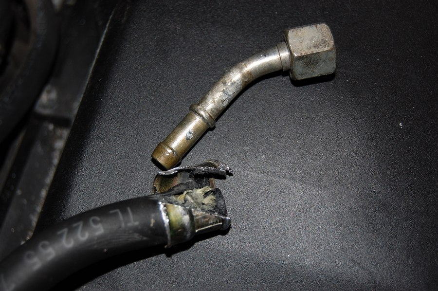 Was working on my old car last night updated the fuel