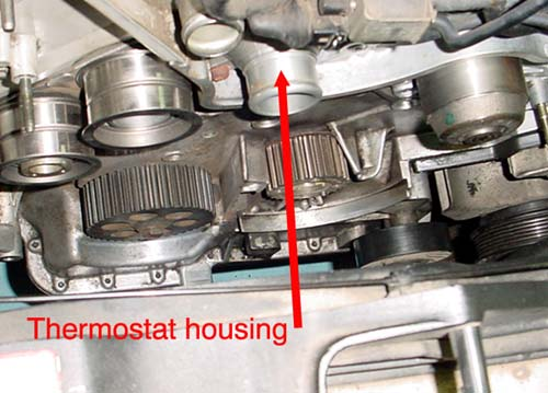 Difficult To Replace Thermostat   U0026 39 93 V8 Quattro
