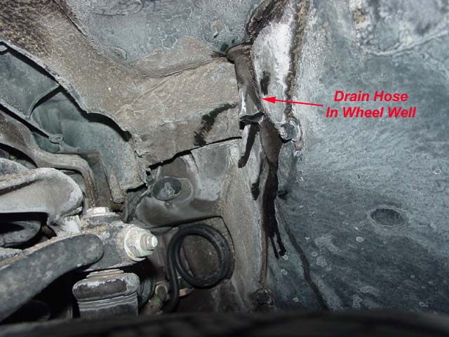 97 audi a6 ac evaporator drain location  97  get free